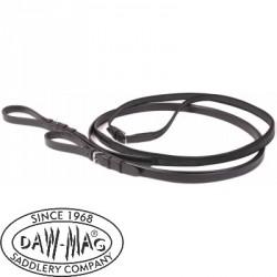 Daw-Mag czarna wodza skórzana
