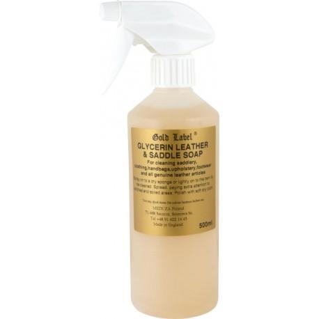 Glycerin Saddle Soap Spray Gold Label mydło