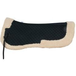 Podkładka pod siodło York ze sztucznym futerkiem