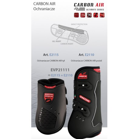 Ochraniacze Zandona CARBON AIR value pack