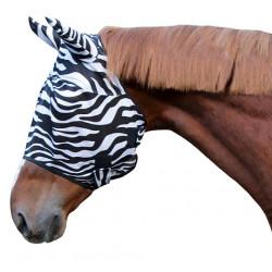 Maska Covalliero Zebra chroniąca przed owadami