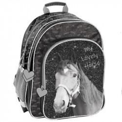Plecak szkolny z koniem Paso Horse
