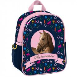 Mały plecak przedszkolny Paso z koniem