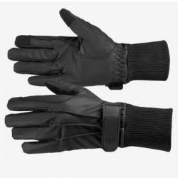 Rękawiczki zimowe HORZE PU LEATHER FLEECE-LINED