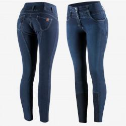 Bryczesy damskie jeansowe Horze Liza