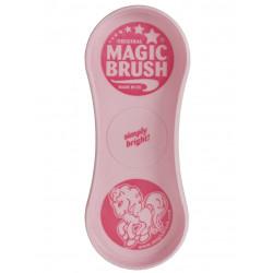 Szczotka dla konia Magic Brush Pink Pony